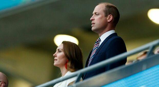 Cori razzisti a Wembley, principe William e Federazione inglese indignati. I precedenti
