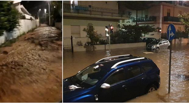 Meteo Palermo, nubifragio e maltempo: frane, strade e case allagate. Eolie isolate