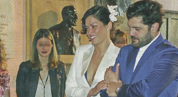 Fernanda lessa sposa a 40 anni matrimonio col fidanzato for 40 anni di matrimonio