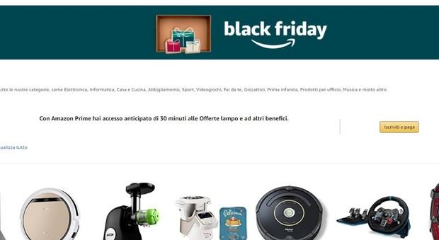 Amazon black friday 2017 ci siamo sconti offerte e for Sconti coupon amazon