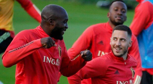 Italia-Belgio, Martinez senza Lukaku e Hazard
