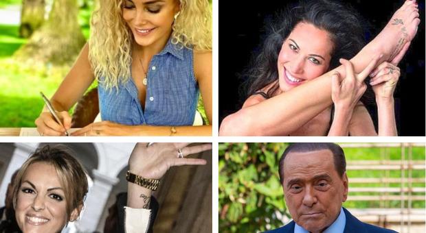 Berlusconi per sempre: dopo Sabina Began e Francesca Pascale anche Marta Fascina si tatua le iniziali del Cavaliere