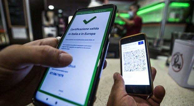 Green pass, linee guida pronte per la Pa: sono alla firma del premier Draghi
