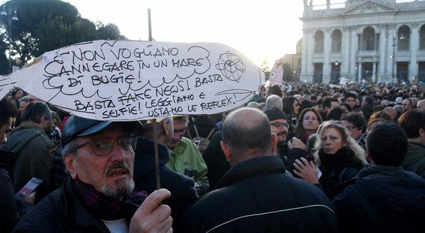 Sardine, Santori: «Candidati? Mai dire mai»