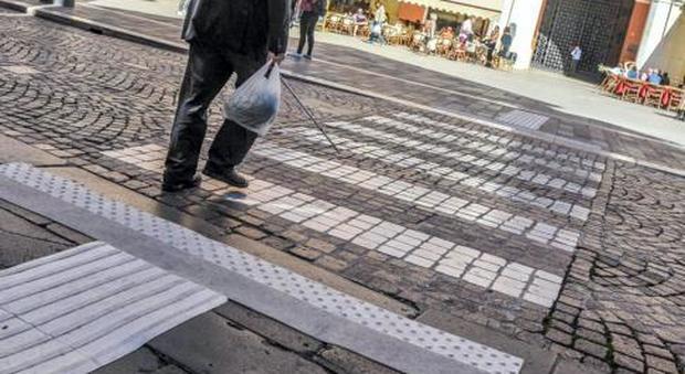 Pavimenti per non vedenti autonomy gres porcellanato per