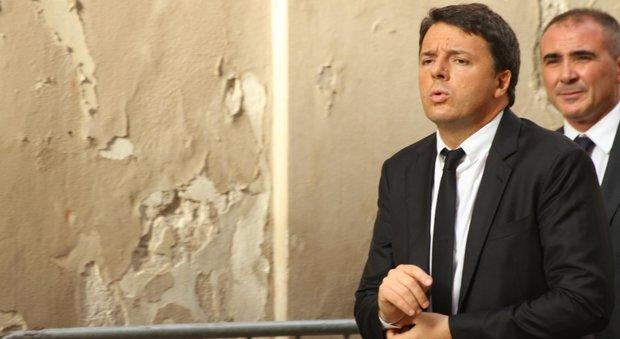 Renzi: «L'Europa smetta di considerare l'Italia un salvadanaio»