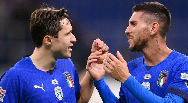 Italia-Belgio, i nodi della formazione: Raspadori e Kean per un posto in attacco, in mezzo dubbio tra Barella e Jorginho