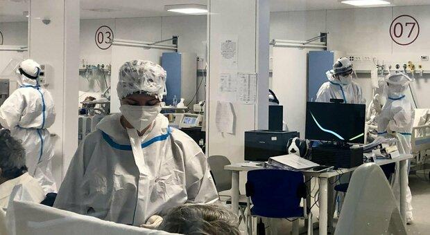 Pazienti Covid in terapia intensiva