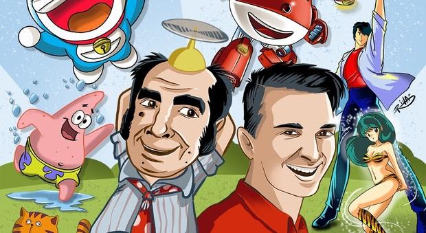 Arriva cartoonia il raduno di artisti e dei doppiatori