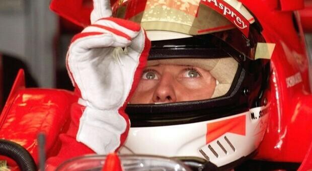 Il pilota di F1 Michael Schumacher