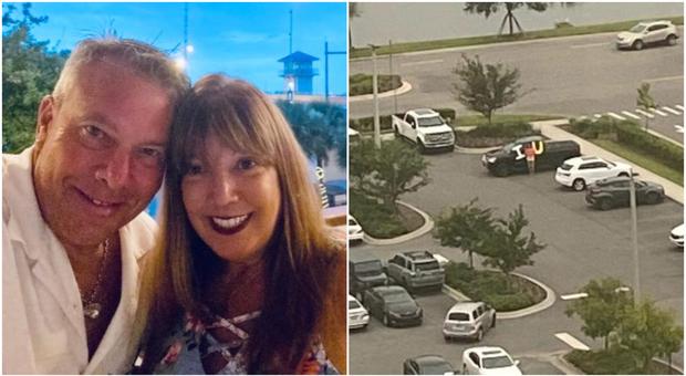 La moglie in terapia intensiva, lui resta fuori dall'ospedale con la scritta «ti amo»: Gary e Donna commuovono l'America