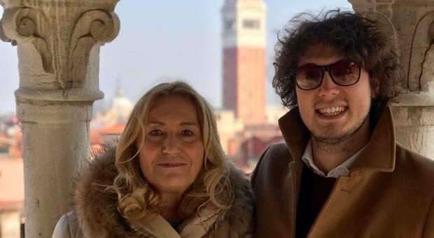 Fiorenza Marin con il figlio Marco Gritti