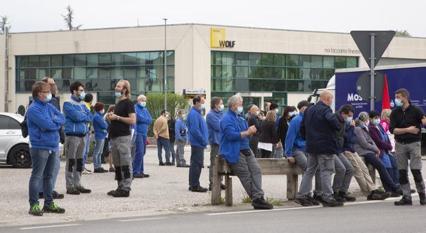 I lavoratori di Acc di Mel, a rischio 315 posti