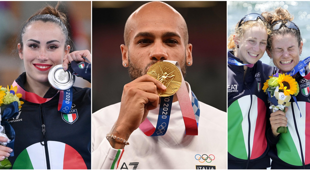 I numeri (e i record) dell'Italia alle Olimpiadi: 40 medaglie in 19 discipline, l'exploit dell'atletica e la maxi-delegazione