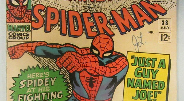 Spider-man da record mondiale: venduto a 3,6 milioni di dollari il primo albo del 1962