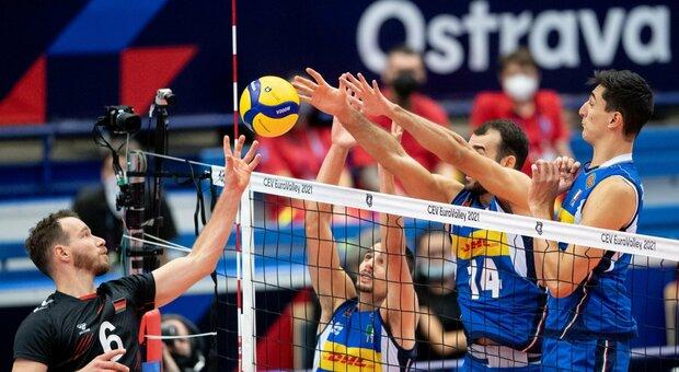 Europei di pallavolo, l'Italia schiaccia la Germania 3 a 0 e vola in semifinale