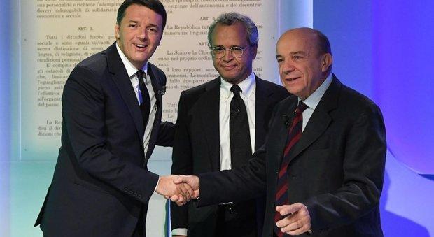 Referendum, Renzi contro Zagrebelsky in tv. Il premier: Pd farà proposta per modificare l'Italicum