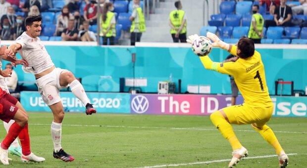 Diretta Svizzera-Spagna 2-4 dcr