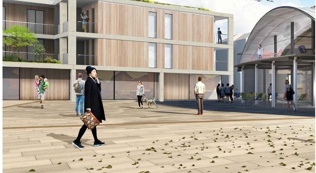 Il progetto del nuovo Piazzale della Lana