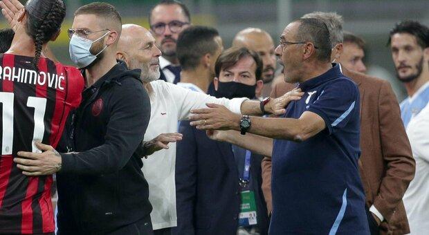 Lazio, Sarri non ci sta: «Non ho bestemmiato. Pronta un'azione legale»