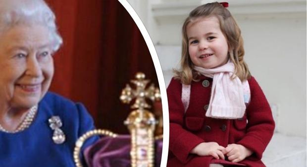 La regina elisabetta rivela charlotte un boss for Quanto costa la corona della regina elisabetta