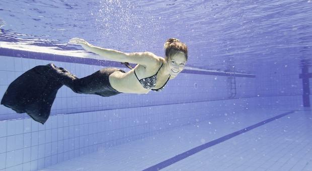 Stress e chili di troppo? Rigeneratevi nuotando come una sirena