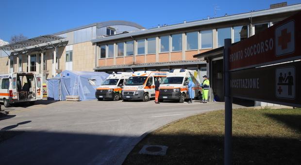 L'ospedale San Martino di Belluno