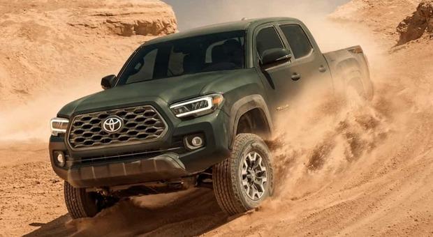 Toyota Tacoma, il pick up giapponese è tra modelli più venduti in Usa