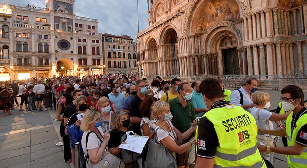 Redentore 2021, a Venezia oltre 630 tamponi ai turisti e solo un positivo al Covid