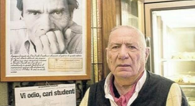 Pommidoro è morto, fu l'oste di Pasolini e Capello a San Lorenzo
