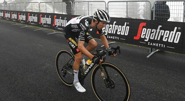 """Giro d'Italia, Bennett scala due volte lo Zoncolan """"per ringraziare il mio compagno Affini"""""""