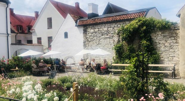 A passeggio tra i vicoli di Visby