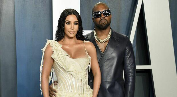 Kim Kardashian e Kanye West, divorzio: a lei la custodia dei quattro figli