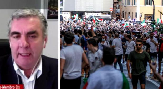 Variante Delta, Abrignani: «Tra 4-5 giorni picchi di casi nelle città dei festeggiamenti»
