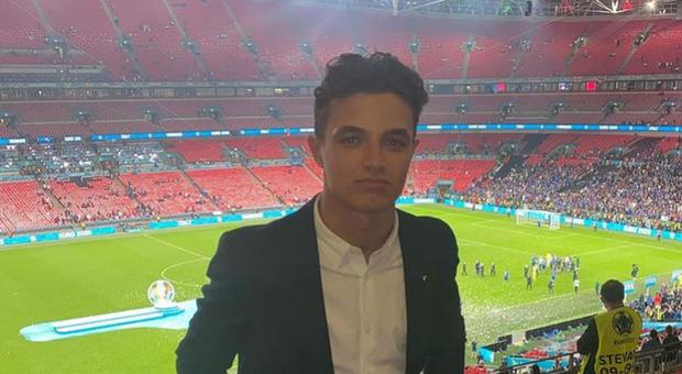 Italia-Inghilterra, il pilota Lando Norris rapinato a Wembley dopo la finale: rubato orologio da 46mila euro