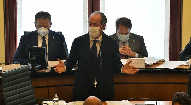 Gestione Covid in Veneto, Zaia e i tecnici in commissione