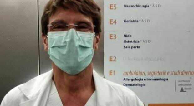 Sandro Panese, il direttore delle Malattie infettive dell Ulss 3 Serenissima,