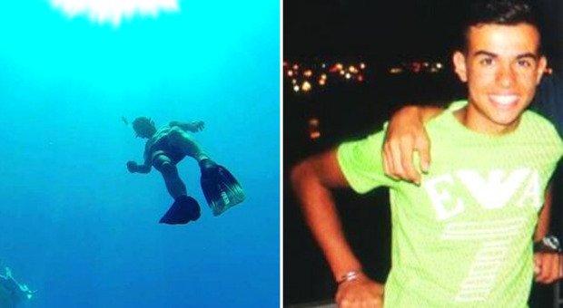 Cagliari, Gabriele muore a 20 anni durante un'immersione, gli amici non lo hanno più visto risalire: ipotesi malore