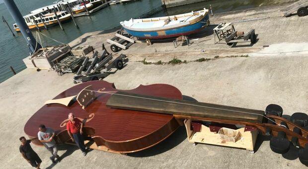 La barca violino