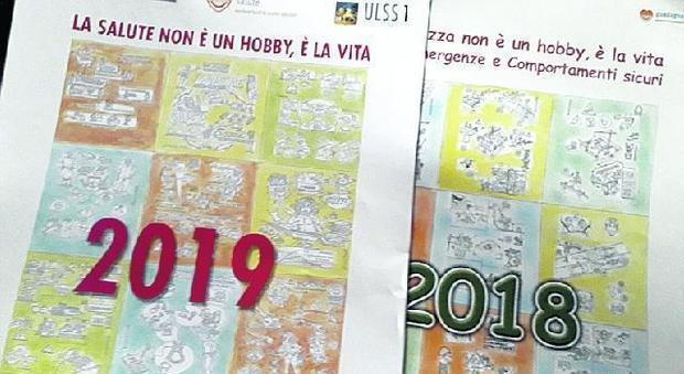 Calendario Vita E Salute.La Sicurezza In Un Calendario A Firma Sedicense