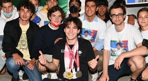 Il ritorno di Antonio Fantin a Bibione con cinque medaglie olimpiche