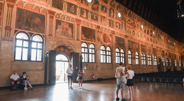 Palazzo della Ragione, fulcro dell'Urbs Picta patrimonio Unesco