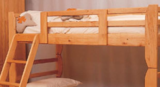 Come costruire un letto a castello le istruzioni su come - Costruire letto in legno ...