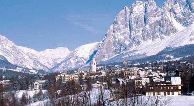 Una veduta di Cortina