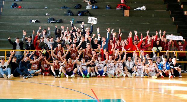 Le squadre del Galilei e del Canova che hanno conquistato i playoff della Reyer School Cup
