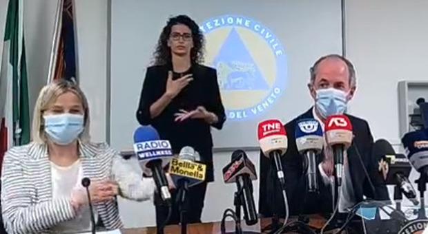 Luca Zaia in diretta oggi 6 settembre 2021 per gli ultimi aggiornamenti sulla pandemia in Veneto