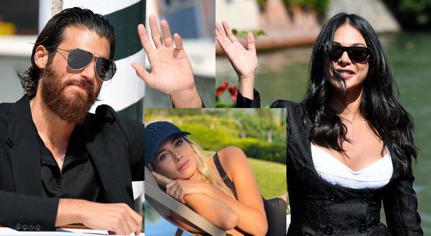 Can Yaman, a Venezia l'attore sorride felice con Moran Atias: addio a Diletta Leotta