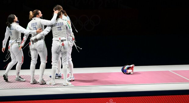 Diretta finale fioretto femminile (11.25): l'Italia si gioca il bronzo