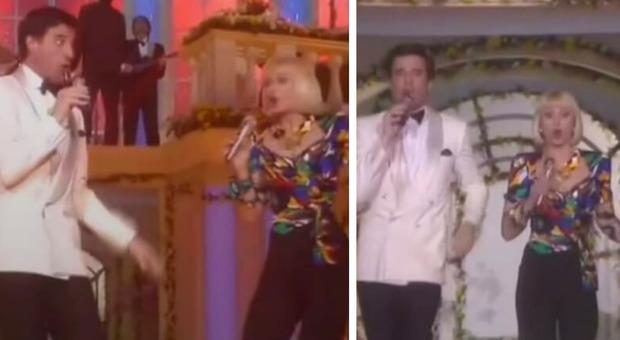 Raffaella Carrà cantava Bongo Cha Cha Cha con Christian De Sica: la hit dell'estate interpretata dalla regina della televisione