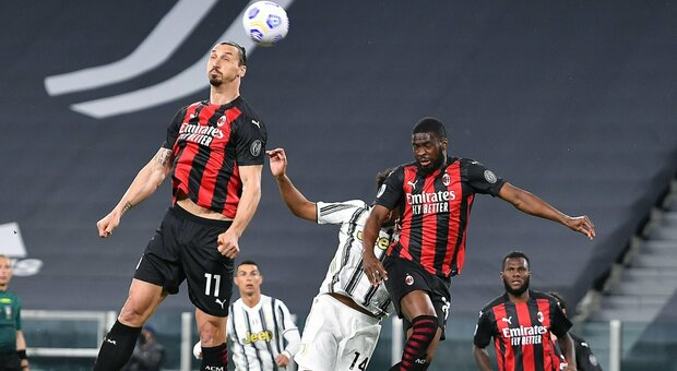 Juventus-Milan, alle 20:45 la diretta. Le formazioni ufficiali